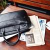 """Foster 14"""" Laptop Briefcase 45-201-BLK"""