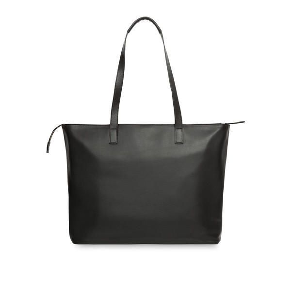 """Maddox Leather Tote 15"""" 120-204-BLK"""