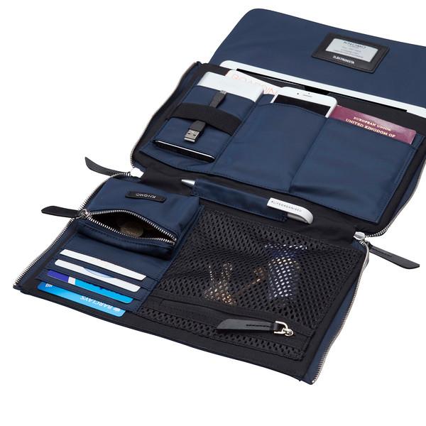 "Elektronista 10"" Fabric Digital Clutch Bag 119-046-NAV"