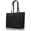 Porchester Large Zip Shoulder Tote 21-201-BLK