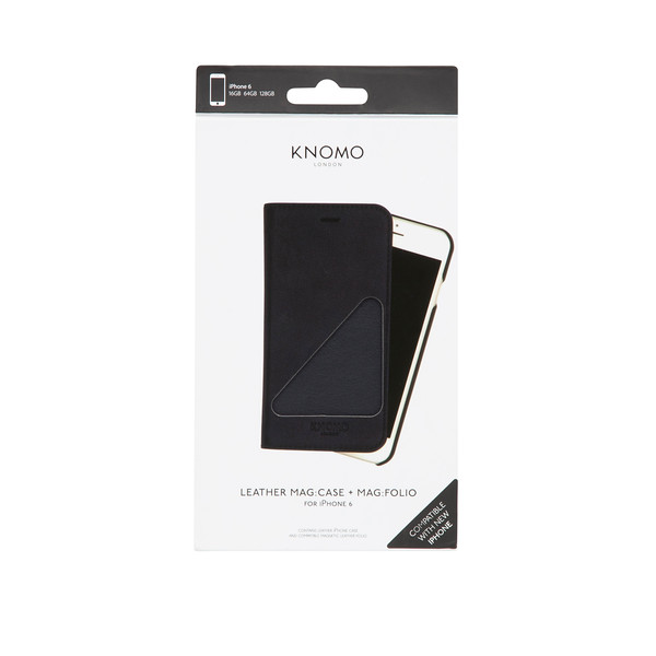 91-103-NAV iPhone 6 Leather Mag Case