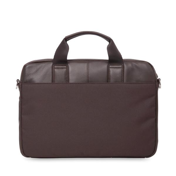 """Stanford 13"""" Slim Briefcase 154-258-BRN"""