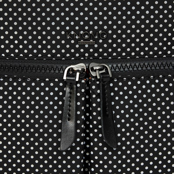 Dalston; Berlin; Black reflective; 129-401-BRF; front detail; 1MB