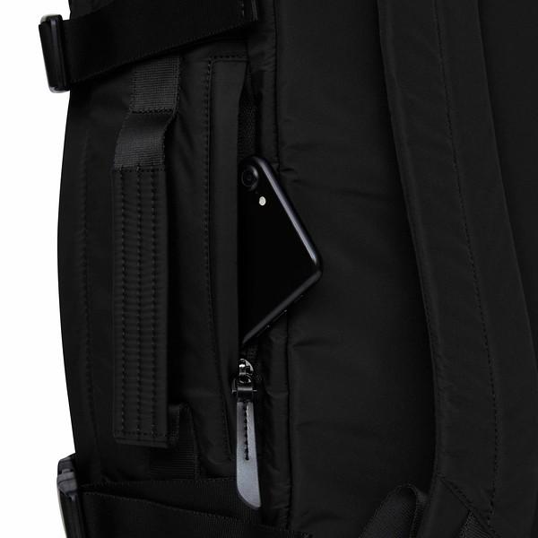 Dalston, Budapest, Black, 129-403-BLK, Phone Side Pocket, 1MB