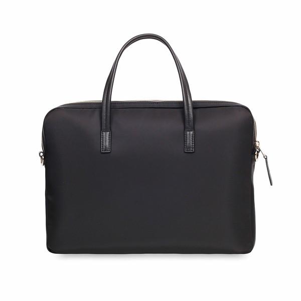 """Hanover 14"""" Black Briefcase 119-101-BLK"""