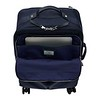 Mayfair, Park Lane, Dark Navy silver zips, front pocket open with laptop, 119-805-DNV, 1MB