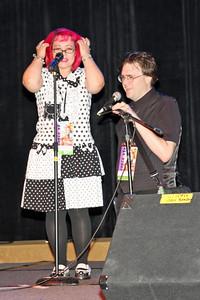 Guest artists, Robert and Emily DeJesus of Studio Capsule
