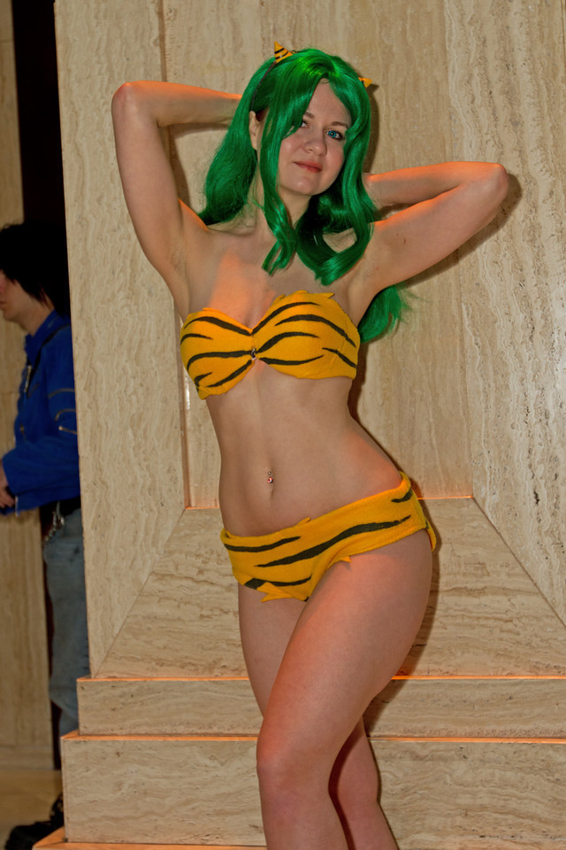 """I love just about everything by Rumiko Takahashi and in particular I love Urusei Yatsura. Lum Invader is one of my favorite characters with her Kansai dialect and always calling that lech, Ataru, that she loves """"Darling"""". Anyway, enjoy the photo shoot"""