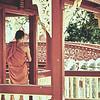 a Theravadan monk