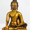 Buddha; touching the earth