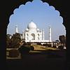 the incredible Taj Mahal