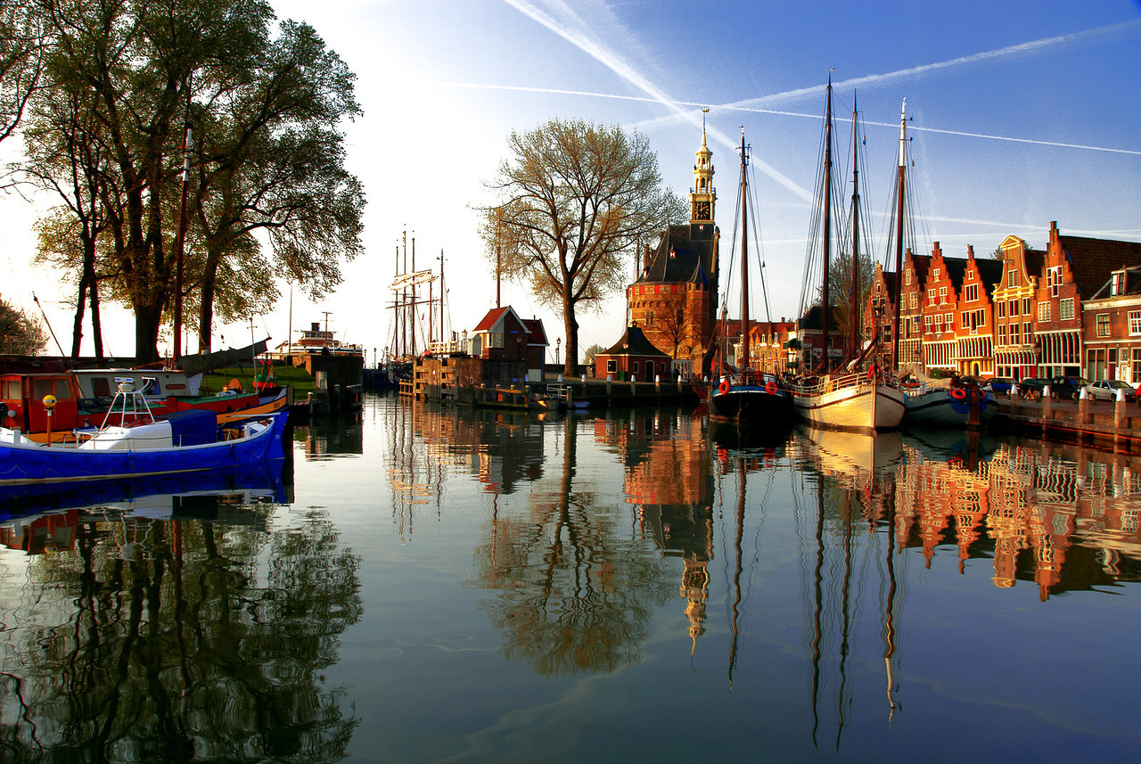 """Hoorn, Early Morning"""