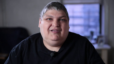 I conducted this video about High Needs/High Costs patients with Faustino, who was born with a cognitive impairment that stopped his intellectual development approximately at the age of 8. There were many challenges, both because his apartment was tiny and because he had difficulty expressing himself clearly. We spent a lot of time building trust with family before starting the interview, and I was prepared to record extensively to ensure that all useful communication was captured. This was emotional work, as he was recovering from an amputation that resulted from his difficulty complying with his medical regimen.