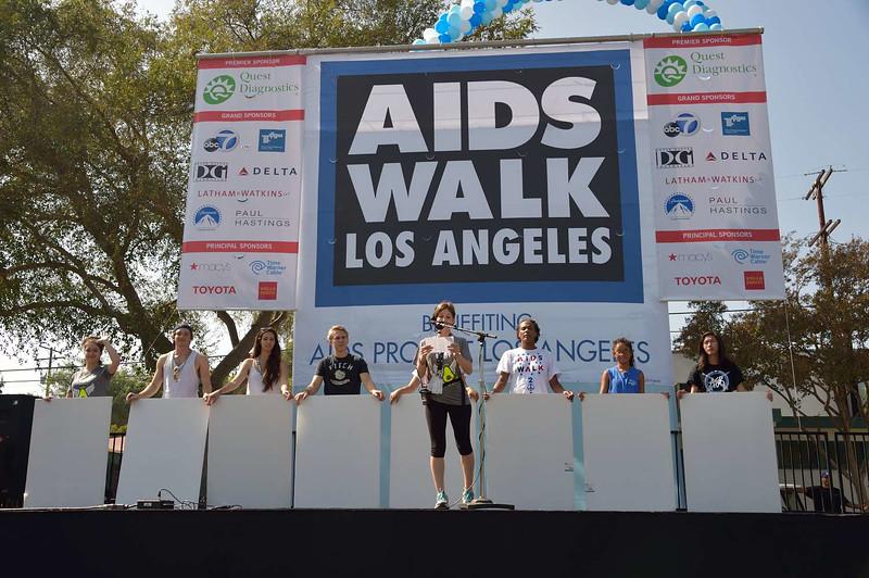 AIDS WALK Los Angeles, DOE