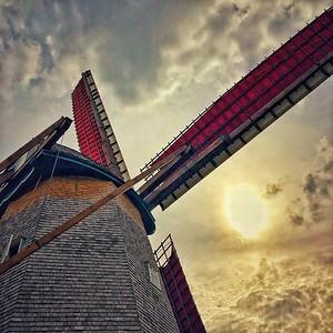 Windmill in Sun