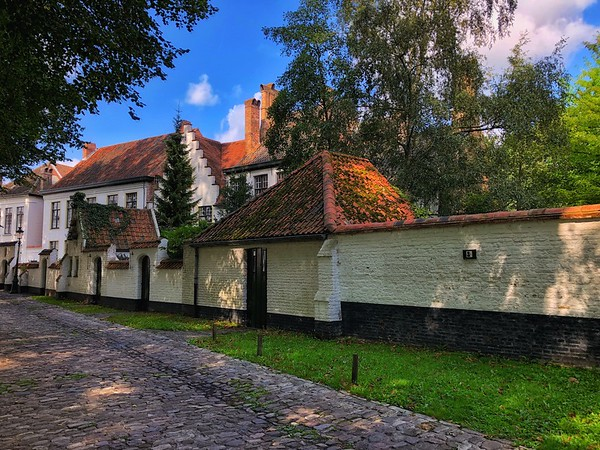 The Beguinage at Bruges