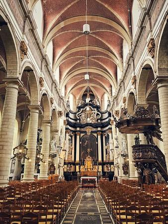 Inside St. Margaret's Church