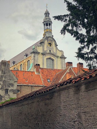 View of St. Margaret's Church from the Beguinage