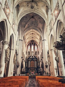 Inside St. Rumbold's Cathedral