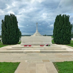 The Centre of The Tyne Cot Cemetery