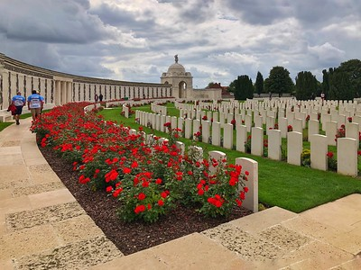 The Tyne Cot Cemetery