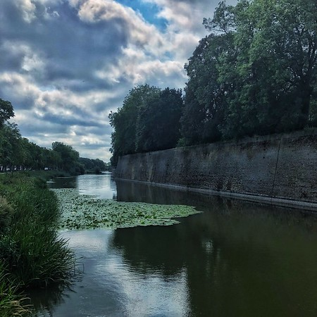 The Moat Around Ypres