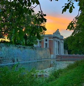 The Menin Gate at Sunset