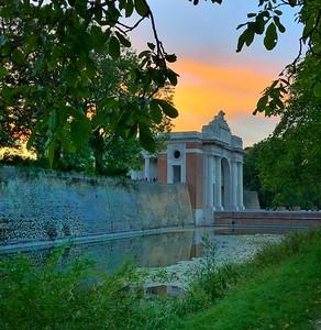 The Menin Gate at Sunset