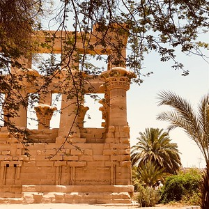 Covering the Temple of Philae
