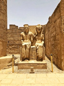 King Tut and Ankhesenamun