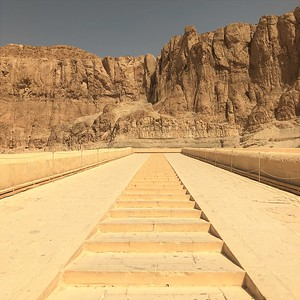 Stairway to Queen Hatshepsut's Temple