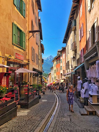 Streets of Briancon