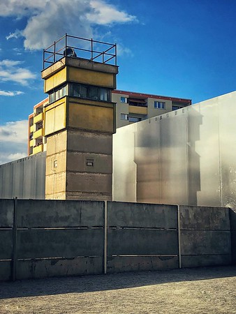 Watchtowers at the Berlin Wall