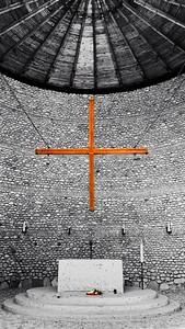 The Catholic Memorial at Dachau