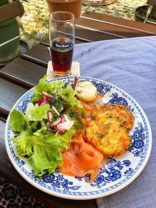 Lunch in Rothenburg