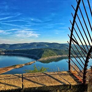 View from Schloss Waldeck