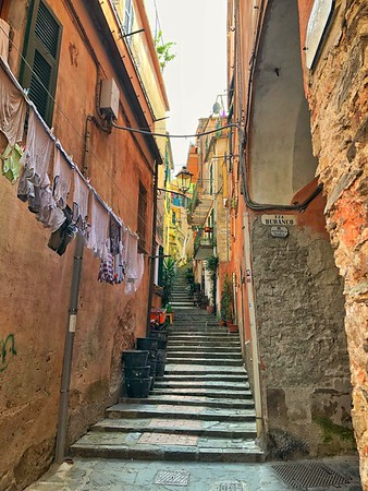 The Streets of Monterosso