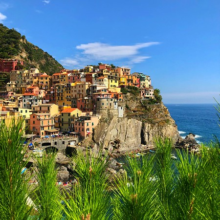 The second village of the Cinque Terre
