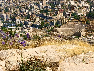 The Roman Theatre in Amman