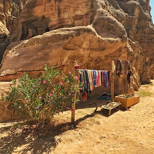 Laundry in Little Petra