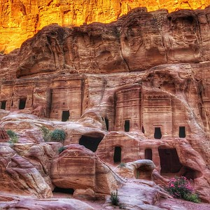 The Tombs in Petra