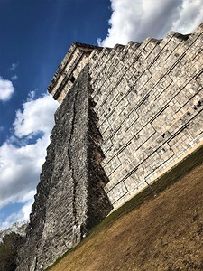 The Pyramid at Chichen Itza