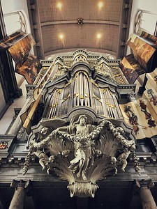 Inside Westerkerk