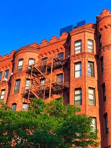 Brownstones in Boston