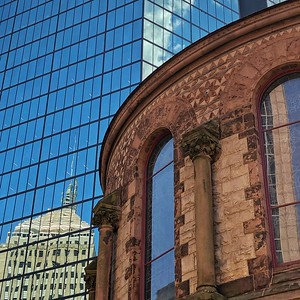 Reflections of Trinity Church