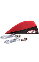 AXIS 50mm / 40mm Premium G10 twin tip fins