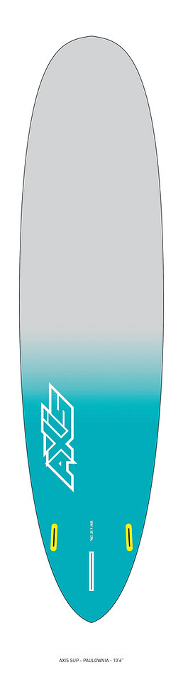 "AXIS 2017 - Paulownia 10'6"" SUP bottom"
