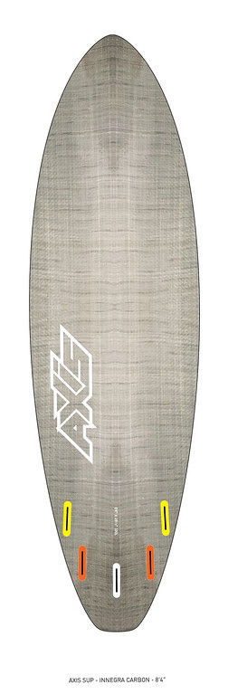"AXIS 2017 - Innegra Carbon 8'4"" SUP bottom"