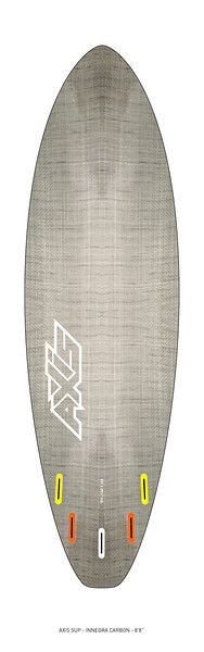 """AXIS 2017 - Innegra Carbon 8'8"""" SUP bottom"""