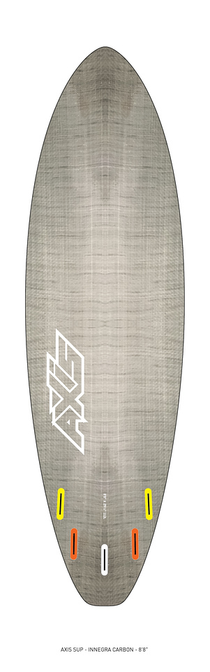 "AXIS 2017 - Innegra Carbon 8'8"" SUP bottom"